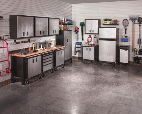 Garage workshop omilian electric for Home garage shop